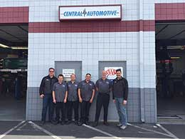 Central Automotive Service Center | The Team #2