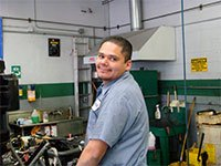 Central Automotive Service Center | Israel Armenta - Certified Technician